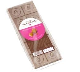Tablette au chocolat au lait et caramel - 100gr - Monbana