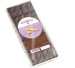 Tablette chocolat noir crèpe dentelle - 100gr - Monbana