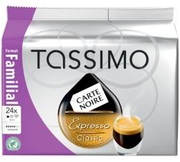 Dosette Tassimo Carte Noire Expresso Classic - 24 T-Discs