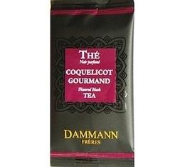 24 sachets Th� Coquelicot Gourmand Dammann Fr�res
