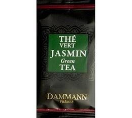 Th� Vert au jasmin Dammann Fr�res - bo�te de 24 sachets Cristal