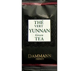 Thé Vert Yunnan Dammann Frères - boîte de 24 sachets Cristal