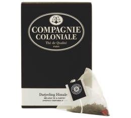 Th� noir Darjeeling Himalaya Compagnie Coloniale x 25 Berlingo�