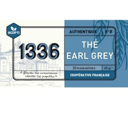 Th� noir Earl Grey 1336 (Scop TI) x 20 Mousselines