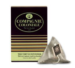 Thé Vert Gunpowder Compagnie Coloniale x 25 Berlingo®