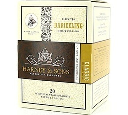 Th� Noir sachet Darjeeling x 20 - Harney and Sons