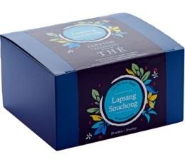 Boîte 20 sachets - Thé noir Lapsang Souchong - Comptoir Français du thé