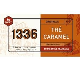 Thé noir Caramel 1336 (Scop TI) x 20 Mousselines