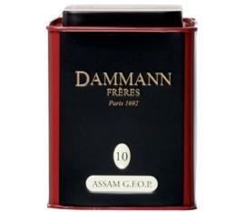 Boite Dammann N�10 Th� Assam GFOP
