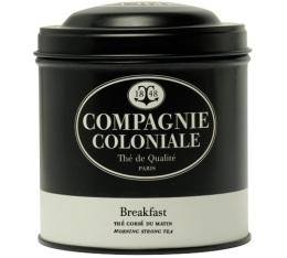 Boite Compagnie Coloniale Th� noir Breakfast - 150 gr