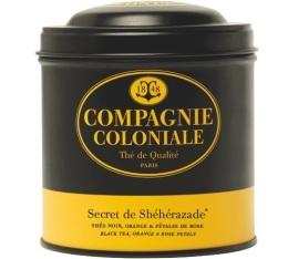 Boite Compagnie Coloniale Th� noir Secret de Sh�h�razade - 140 gr
