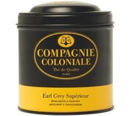 Boite Compagnie Coloniale Th� noir Earl Grey Sup�rieur - 120 gr