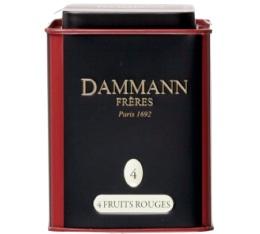 Boite Dammann N°04 Thé 4 Fruits Rouges