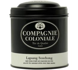 Boite Compagnie Coloniale Th� noir Lapsang Souchong - 100 gr