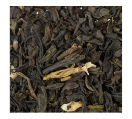 M�lange th� noir et vert Secret Tib�tain (Bergamote/Jasmin/Vanille) en vrac - 100 gr - George Cannon