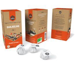 20 mousselines Th� Bio Darjeeling - SCOP TI