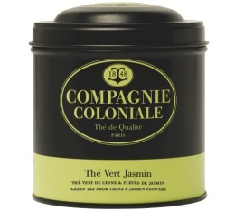 Boite Compagnie Coloniale Th� vert au Jasmin - 100 gr