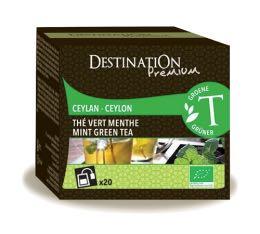 Th� vert bio Menthe Destination x20 sachets