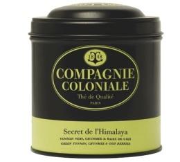 Boite Compagnie Coloniale Th� vert Secret d'Himalaya - 100 gr