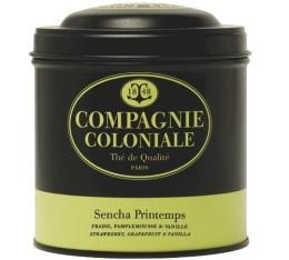 Boite Compagnie Coloniale Th� vert Sencha Printemps - 100 gr