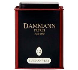 Boite Dammann N�12 Th� Yunnan vert