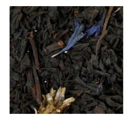 Th� noir � la bergamote Earl Grey Fleurs Bleues - 100 gr - G. Cannon