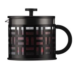 Th�i�re � Piston Eileen Tea Press 1.5l noire - Bodum