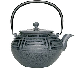 Th�i�re en fonte Nigata gris 65cl - Fonte de Chine