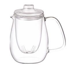 Théière Kinto Unitea set filtre verre - 72 cl