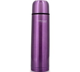 Bouteille THERMOcaf� isotherme inox Rose Lilas - Thermos - 50 cl