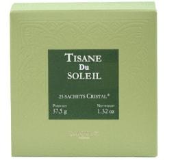 Tisane du Soleil Herboristerie d'Orgeval - boîte de 25 sachets cristals