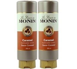 Topping Coulis Caramel Monin - 2x500 ml