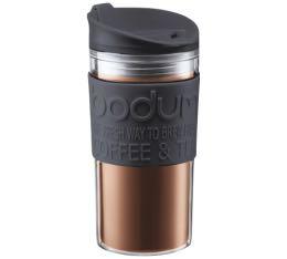 Travel mug Bodum noir double paroi - 35 cl