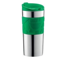 Travel mug Memphis Inox / Vert 35 cl - Bodum
