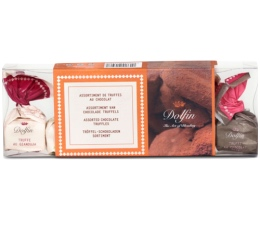 Boîte assortiment 6 truffes - 84g - Dolfin