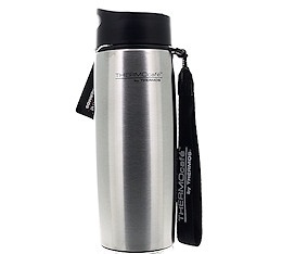 Tumbler isotherme THERMOcaf� by Thermos inox avec dragonne - 35cl