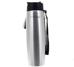 Tumbler isotherme THERMOcaf� by Thermos inox avec dragonne - 50cl