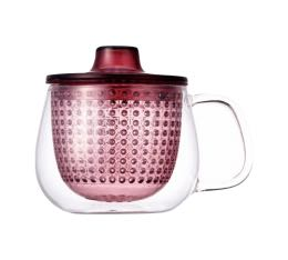 Mug Kinto Unimug + infuseur � th� rouge - 35cl
