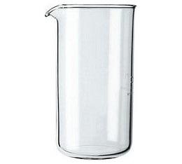 Verre de rechange pour cafetière à piston Bodum 3 tasses ou 35 cl