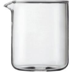Verre de rechange pour cafeti�re � piston Bodum 4 tasses ou 50 cl