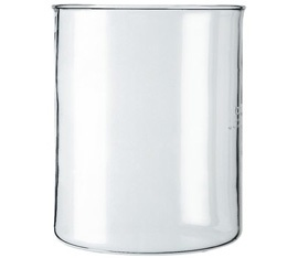 Verre de rechange sans bec cafeti�re � piston 4 tasses 0,5L