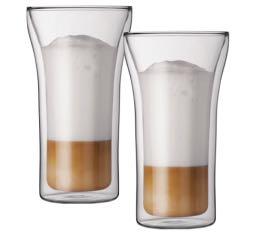2 verres BODUM ASSAM 40cl