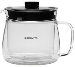 Carafe verre double paroi 5 tasses pour cafeti�re Bonavita