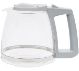 Verseuse en verre de rechange grise (307120) pour Single 5 - Melitta
