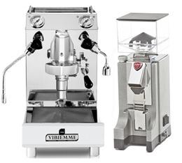 Bundle Machine Domobar Junior HX Vibiemme + Eureka Mignon
