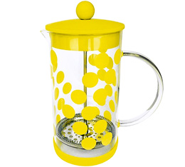 Cafetière à piston Zak!Designs DOT DOT jaune 8 tasses