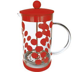 Cafetière à piston Zak!Designs DOT DOT rouge 8 tasses
