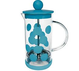Cafetière à piston Zak!Designs DOT DOT bleue 3 tasses