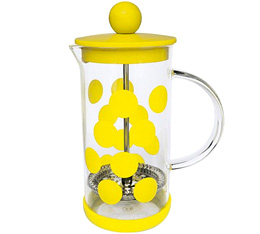 Cafetière à piston Zak!Designs DOT DOT jaune 3 tasses
