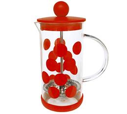 Cafetière à piston Zak!Designs DOT DOT rouge 3 tasses